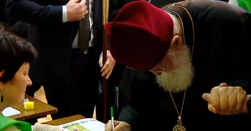 ილია II: გილოცავთ ისტორიულ დღეს, ჩვენ მივეცით ხმა საქართველოს მთლიანობას