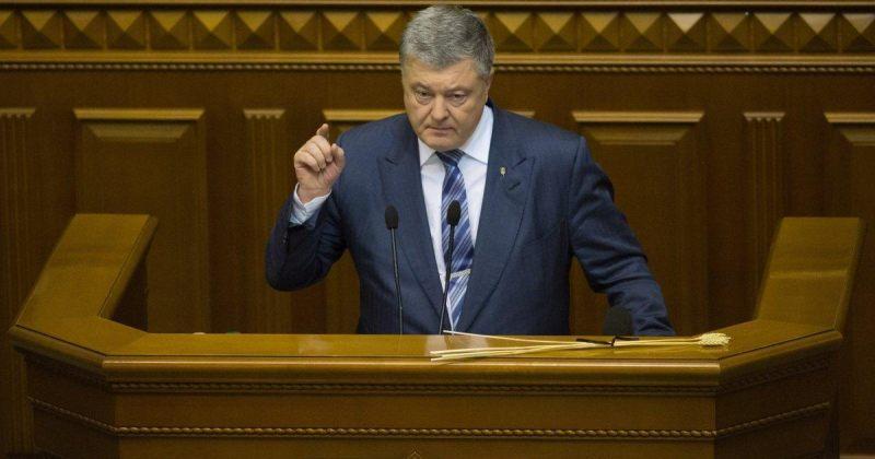 პოროშენკო: უკრაინა რუსეთთან სრულმასშტაბიანი ომის საფრთხის წინაშეა
