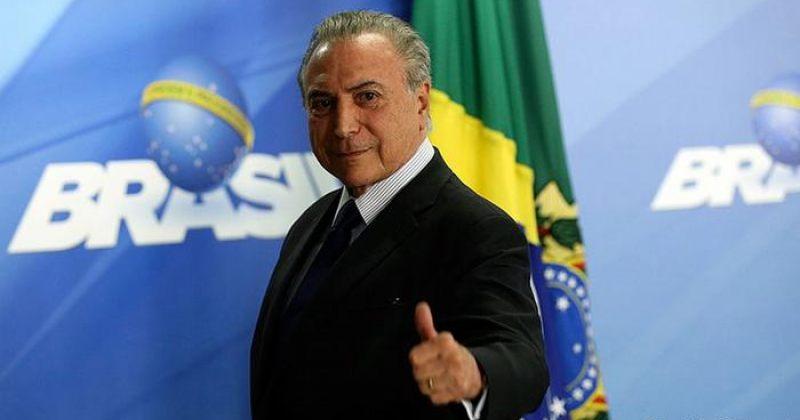 ბრაზილიის პრეზიდენტს, რომელსაც ვადა 12 დღეში გასდის, ქრთამის აღებაში სდებენ ბრალს