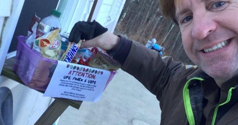 ამერიკაში კურიერებს ხალხი საჩუქრებსა და გამამხნევებელ წერილებს ახვედრებს