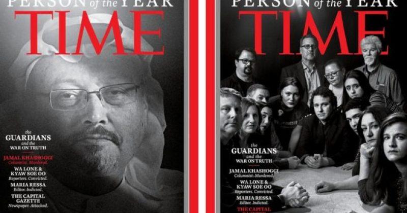 """Time-ის """"წლის ადამიანად"""" მოკლული და დაპატიმრებული ჟურნალისტები დასახელდა"""