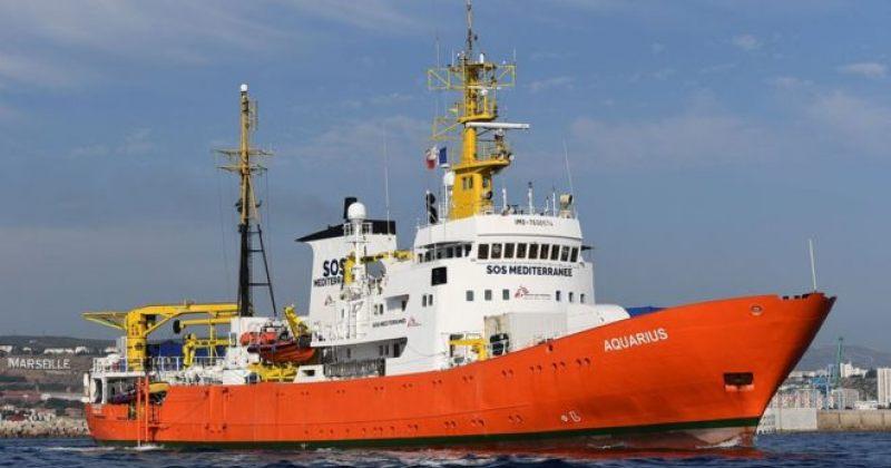 გემი Aquarius ხმელთაშუა ზღვაში მიგრანტების გადარჩენის ოპერაციებს წყვეტს