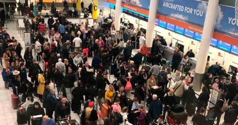 გატვიკის აეროპორტში დრონების გამო ასობით ფრენა გადაიდო
