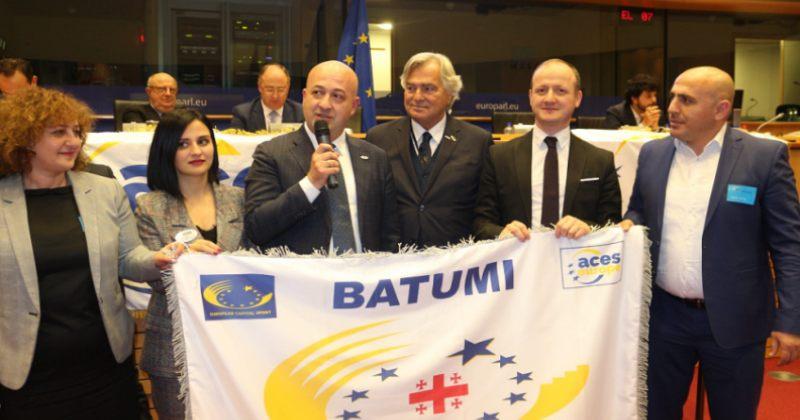 ბათუმს ევროპის 2019 წლის სპორტის ქალაქის სტატუსი მიენიჭა