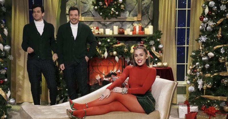 მაილი საირუსმა საშობაო სიმღერა Santa Baby შეცვალა და ფემინისტური გახადა - ვიდეო