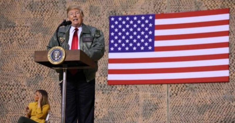 ტრამპი აშშ-ის ჯარისკაცებს ერაყში: ამ ბაზას გამოვიყენებთ, თუ სირიაში რაიმეს გაკეთება მოგვინდა