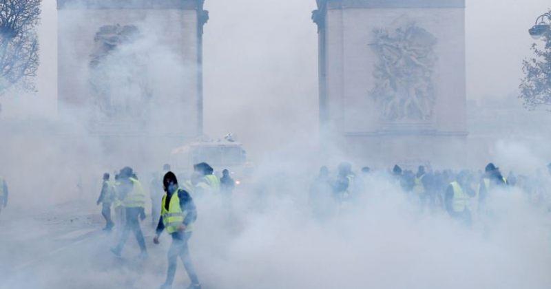 საფრანგეთის მთავრობა 8-9 დეკემბერს არეულობის შესაძლებლობაზე გაფრთხილებას ავრცელებს