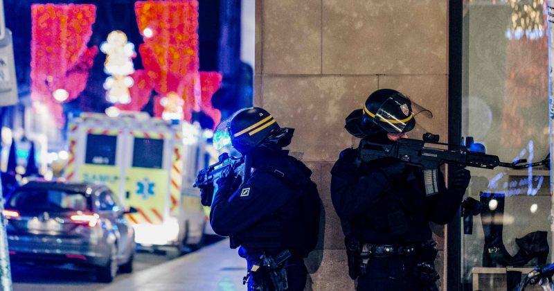 სტრასბურგში საშობაო ბაზრობასთან სროლის შედეგად 3 ადამიანი დაიღუპა და 12 დაიჭრა