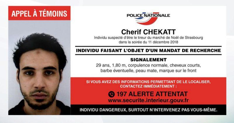 საფრანგეთის პოლიციამ სტრასბურგში, საშობაო ბაზრობაზე თავდამსხმელის ფოტო გამოაქვეყნა