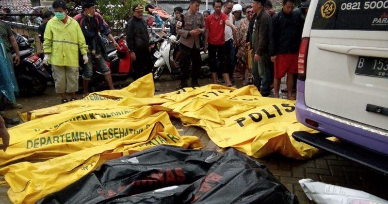 ინდონეზიაში ვულკანის ამოფრქვევას ცუნამი მოჰყვა, გარდაცვლილია 168 ადამიანი