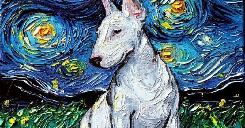 არტისტის ნამუშევარი ვან გოგისაში აერიათ, შემდეგ კი მან ვარსკვლავიანი ღამის სერია შექმნა