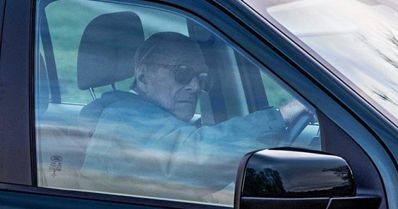 დიდი ბრიტანეთის 97 წლის პრინცი ფილიპე ავარიიდან ორი დღის შემდეგ კვლავ საჭესთან ზის