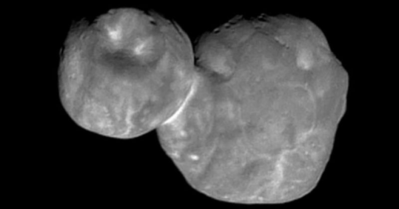 """NASA-მ ახალ წელს გადაღებული კოსმოსური """"თოვლის კაცის"""" ახალი ფოტო გამოაქვეყნა"""