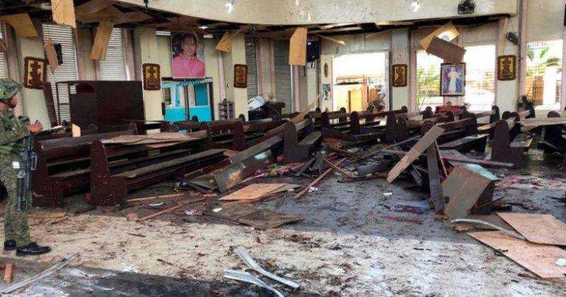 მინდანაოს ეკლესიაში აფეთქებაზე პასუხისმგებლობა ე.წ. ისლამურმა სახელმწიფომ აიღო