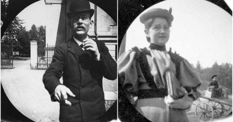 სტუდენტი, რომელიც 1890-იან წლებში ოსლოს ქუჩებს დამალული კამერით იღებდა - სურათები