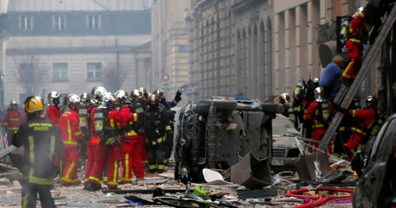 პარიზში მომხდარი აფეთქების შედეგად 4 ადამიანი დაიღუპა, 10-ის მდგომარეობა მძიმეა