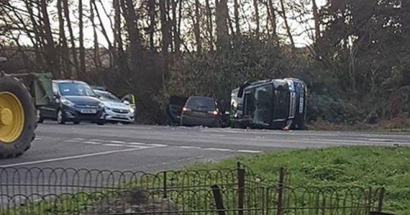 დიდი ბრიტანეთის პრინცი ფილიპე ავარიაში მოყვა, თუმცა არ დაშავებულა