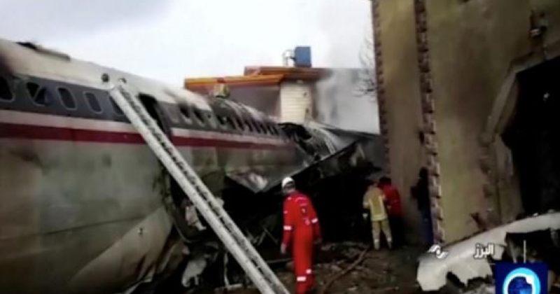 ირანში სატვირთო თვითმფრინავი ჩამოვარდა, დაიღუპა 15 ადამიანი