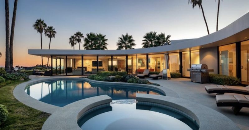 ელონ მასკი თავის ვილას ლოს ანჯელესში $4.5 მილიონად ყიდის - სურათები