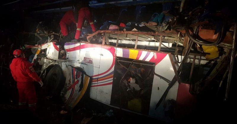 ბოლივიაში ავტოავარიის შედეგად 24 ადამიანი დაიღუპა