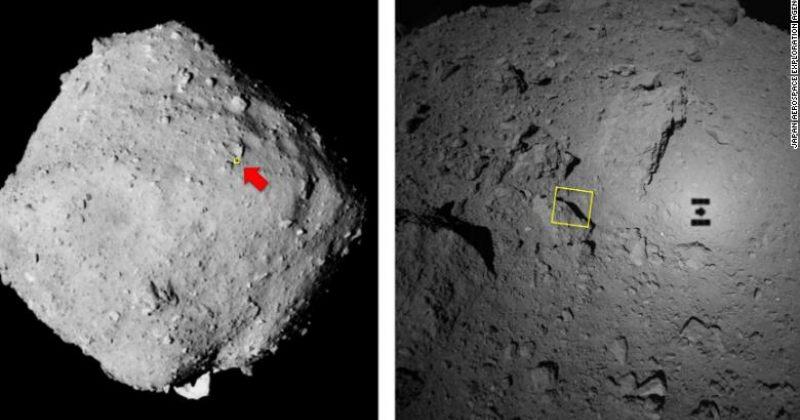 იაპონურმა ზონდმა ასტეროიდ რიუგუს ზედაპირიდან ნიმუშები შეაგროვა და დედამიწაზე ჩამოიტანს