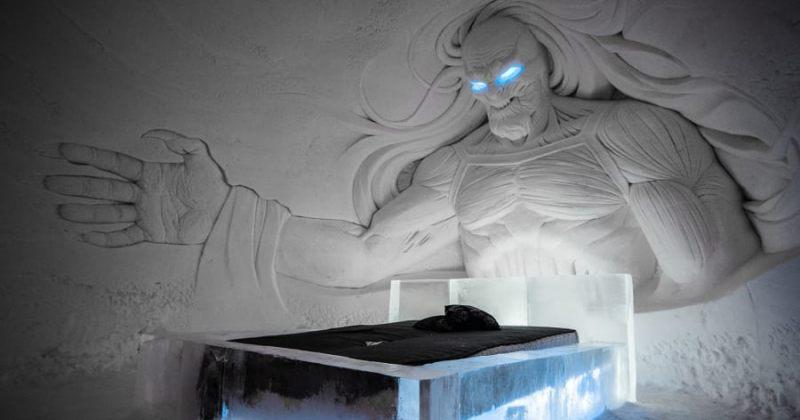 Game Of Throne-ის ყინულის სასტუმრო ლაპლანდიაში - video