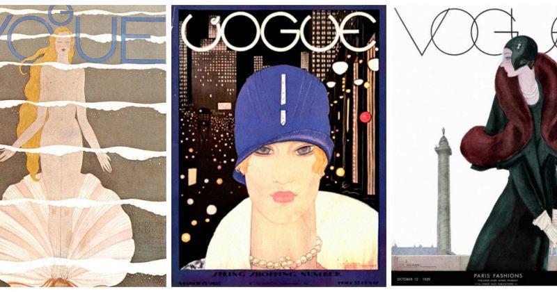 როგორი იყო Vogue-ს გარეკანი 1910-1930 წლებში [გალერეა]