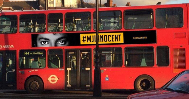 უდანაშაულოა - ლონდონში მაიკლ ჯექსონის მხარდამჭერი პოსტერები გამოჩნდა