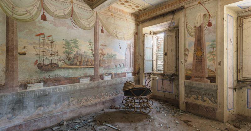 მიტოვებული სახლების კედლებზე დარჩენილი ნახატები - გალერეა