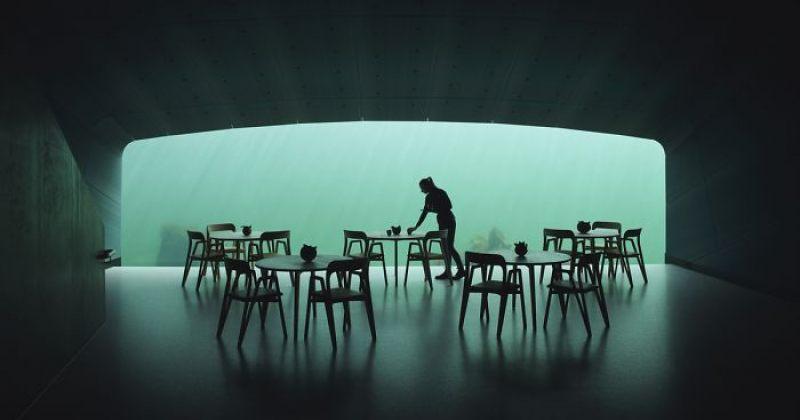 ევროპის ყველაზე დიდი წყალქვეშა რესტორანი - სურათები
