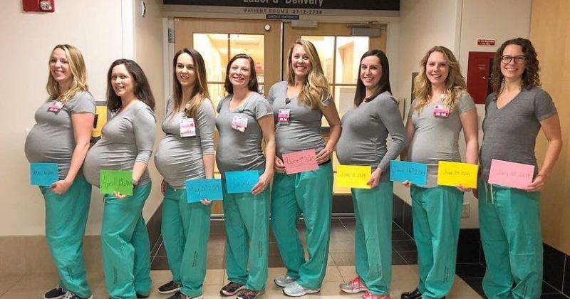 აშშ-ში, მეინის საავადმყოფოში ერთდროულად 9 მედდა არის ორსულად