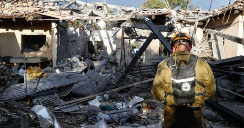 ღაზას სექტორიდან გასროლილი რაკეტა ისრაელში სახლს დაეცა, დაშავდა 7 ადამიანი