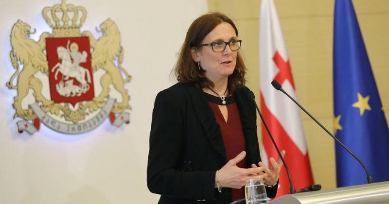 ევროკომისარი მალმსტრომი: საჭიროა, პროგრესმა ეკონომიკის და ინვესტიციების ზრდა მოიტანოს