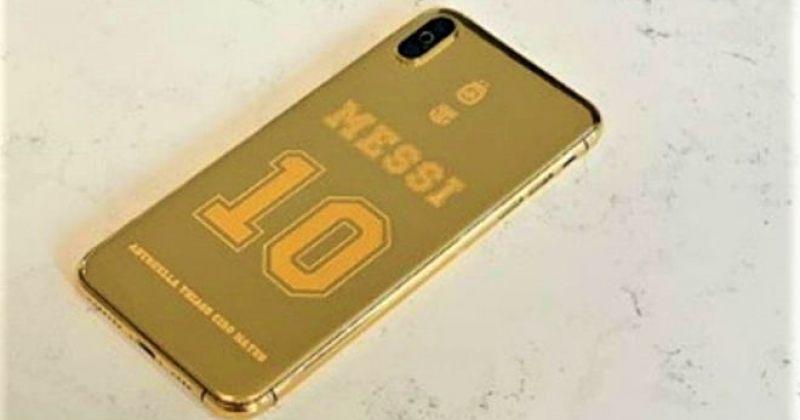 ლიონელ მესის 7000-ევროიანი მოოქროვილი სმარტფონი