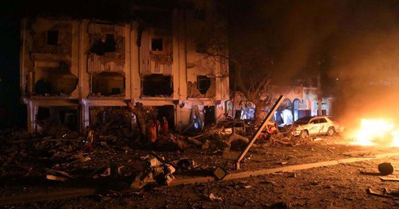 """სომალის დედაქალაქში სასტუმროზე """"ალ-შაბაბის"""" თავდასხმის შედეგად 30 ადამიანი დაიღუპა"""
