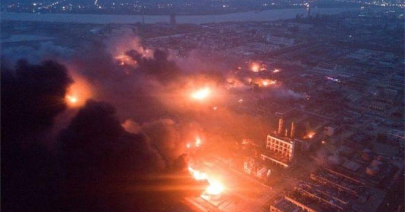 ჩინეთში ქიმიური ქარხნის აფეთქების შედეგად 47 ადამიანი დაიღუპა [ფოტოები]