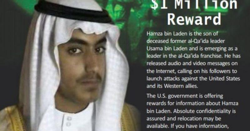 აშშ-მა ბინ ლადენის შვილზე ინფორმაციისთვის ჯილდოდ $1 მილიონი დააწესა