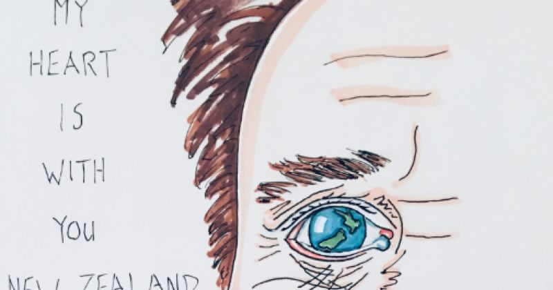 """""""ჩემი გული თქვენთან არის"""" - ჯიმ ქერი ახალ ზელანდიაში მომხდარ თავდასხმას ეხმაურება"""