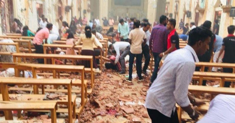 შრი ლანკაში 3 ეკლესიისა და 3 სასტუმროს აფეთქების შედეგად 138 ადამიანი დაიღუპა, 560 დაშავდა