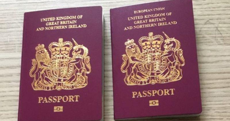 გაერთიანებული სამეფოს ახალ პასპორტებზე ევროკავშირი აღარ წერია
