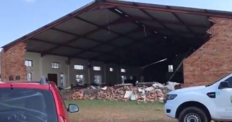 სამხრეთ აფრიკაში, ეკლესიის კედლის ჩამონგრევის შედეგად, 13 ადამიანი გარდაიცვალა