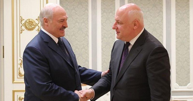 გიგი წერეთელი ბელარუსის რესპუბლიკის პრეზიდენტს ალექსანდრე ლუკაშენკოს შეხვდა
