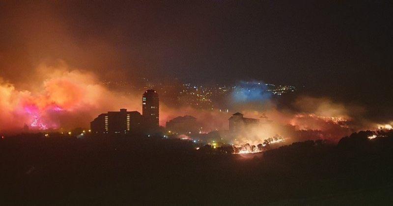 ხანძარი სამხრეთ კორეაში -  დაიწვა 525 ჰექტარი, 198 სახლი, 4000 ადამიანი ევაკუირებულია