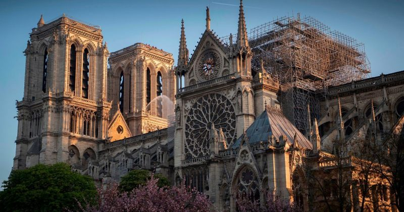 დისნეიმ პარიზის ღვთისმშობლის ტაძრის აღსადგენად $5 მილიონი გაიღო