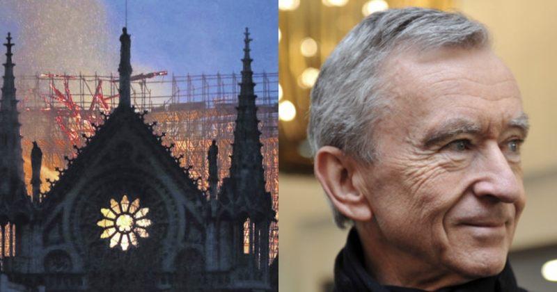 უმდიდრესმა ფრანგმა პარიზის ღვთისმშობლის ტაძრის აღსადგენად 200 მილიონი ევრო გაიღო