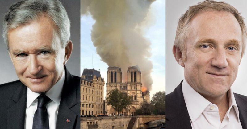ფრანგმა მილიარდერებმა 339 მილიონი დოლარი გაიღეს პარიზის ღვთისმშობლის ტაძრის აღსადგენად