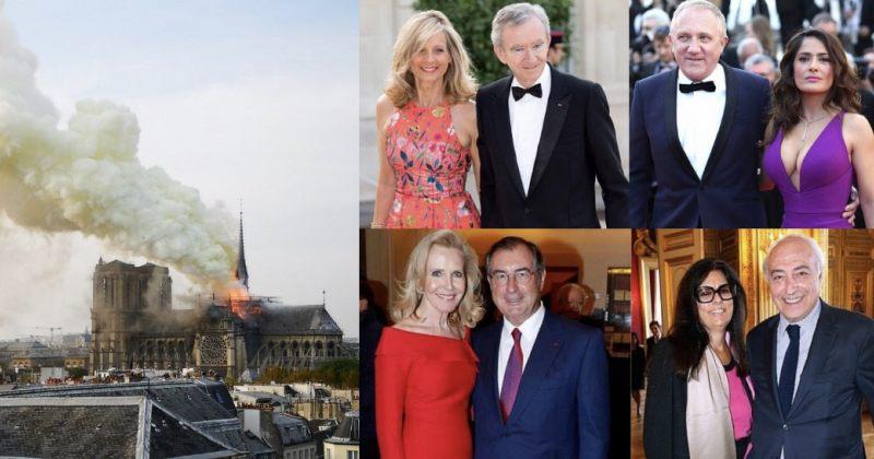 პარიზის ღვთისმშობლის ტაძრის აღსადგენად დონორებმა 700 მილიონ ევროზე მეტი გაიღეს