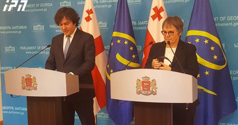 ლილიანმორი პასკიე: ევროპის საბჭო მზად არის, საქართველოს რეფორმების გატარებაში დაეხმაროს