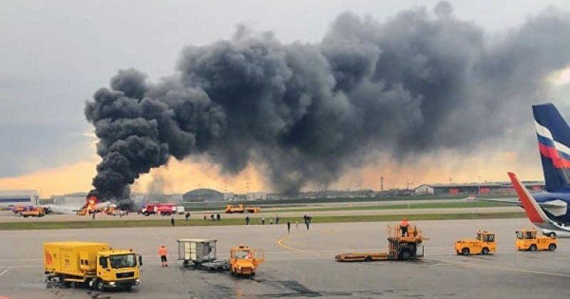 რუსული მედიის ნაწილი: შერემეტიევოს აეროპორტში ხანძრის შედეგად 13 ადამიანი დაიღუპა