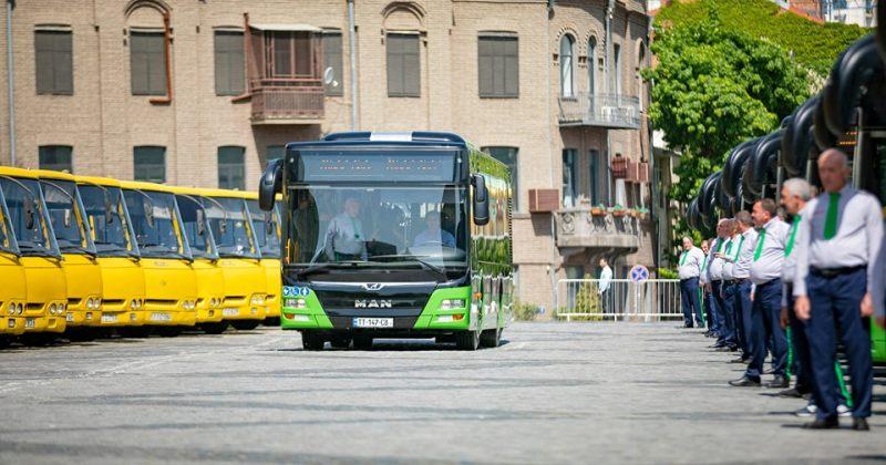 10 მარშრუტი, რომლებზეც ახალი, მწვანე ავტობუსები იმოძრავებენ